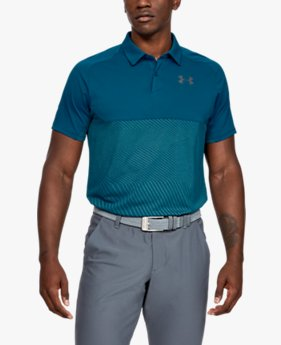 Men's UA Vanish Blocked Polo